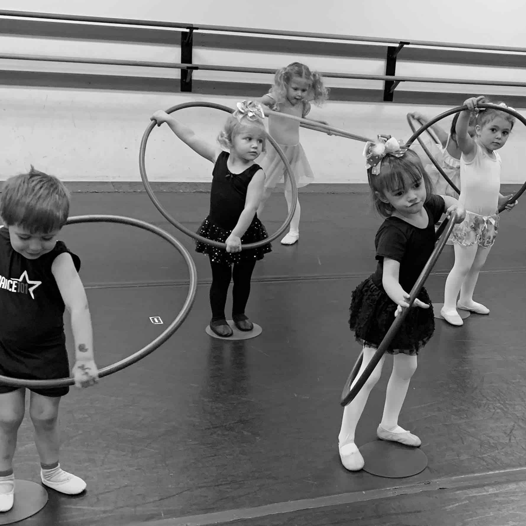 Dance 101 Early Dance Hoops