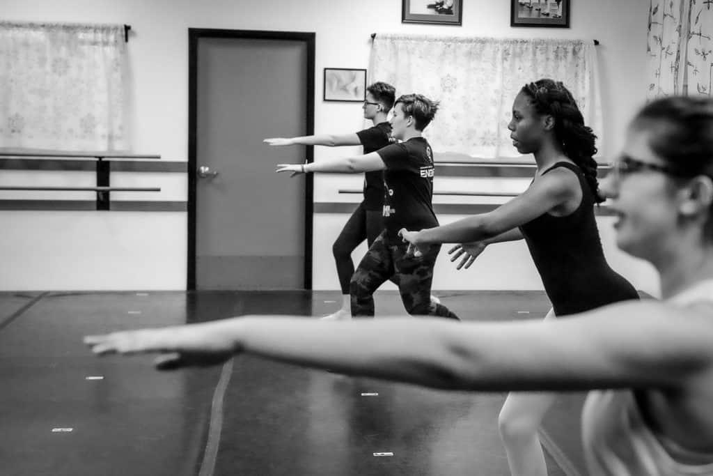 Dance 101 Teen ballet