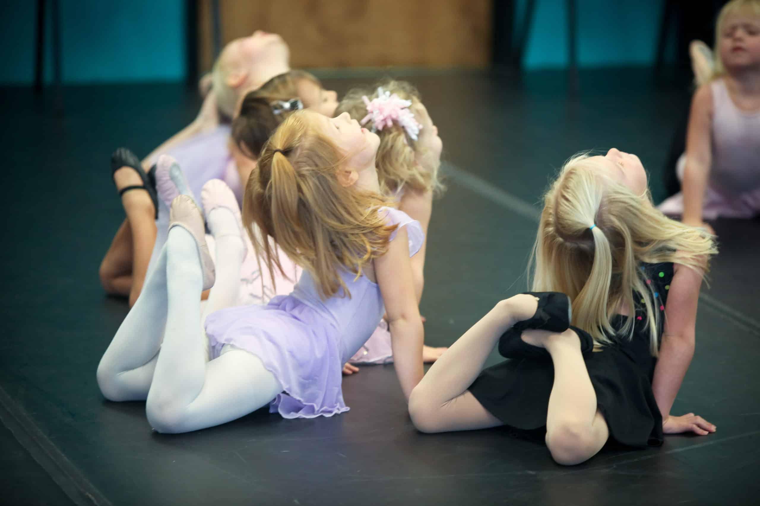 Dance 101 Dancers stretching