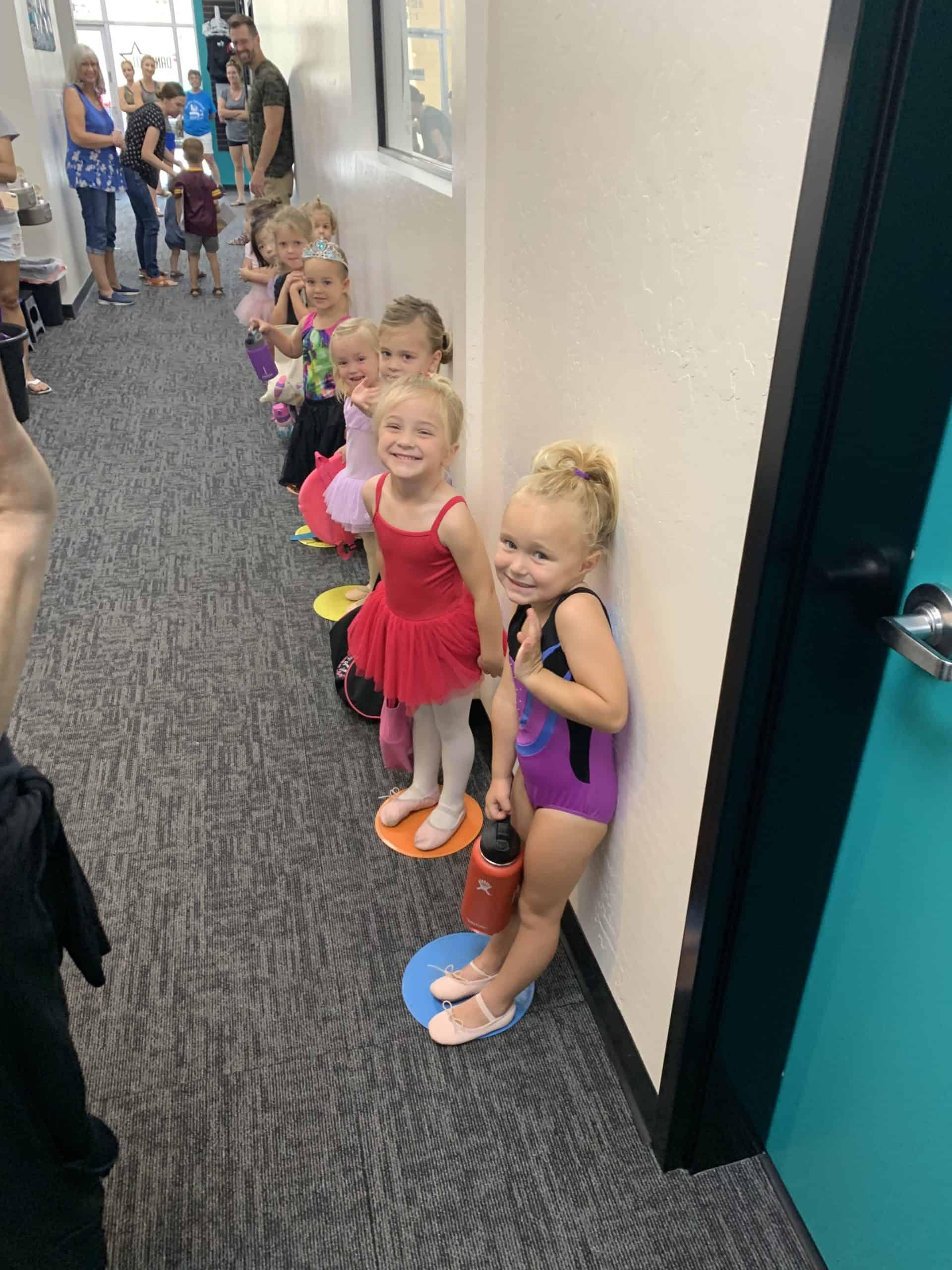 Dance 101 Dancers Waiting In Line