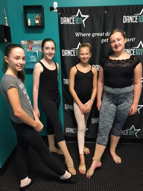 Dance 101 Contemporary Dresscode