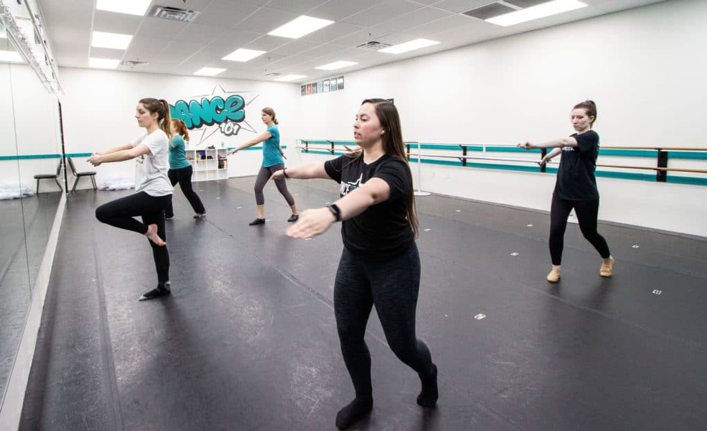 Dance 101 Adult Jazz Class