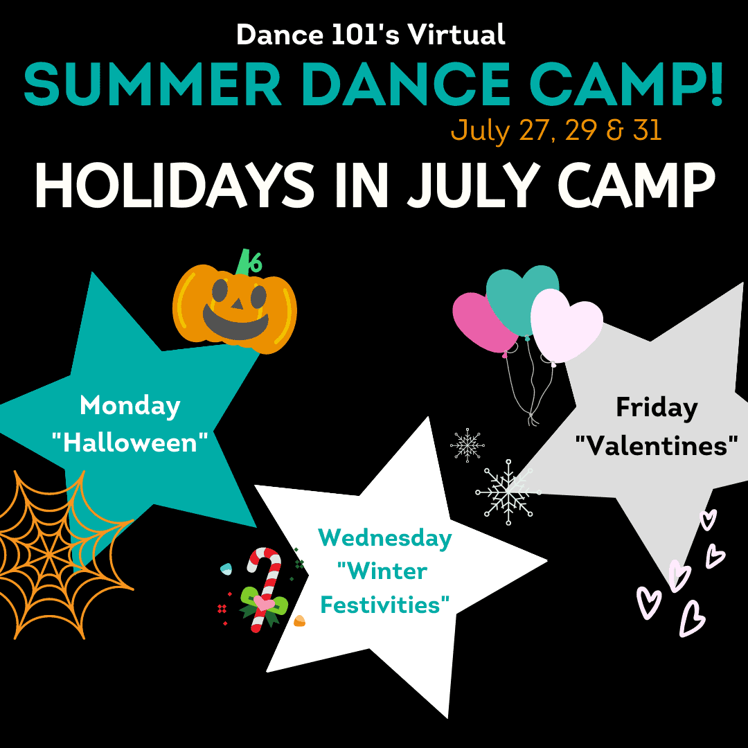D101 Virtual Holidays in July Camp