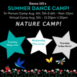 D101 Week 9 Dance camp
