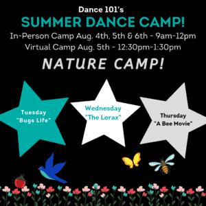 D101 Week 9 Dance camp