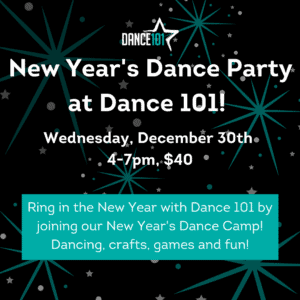 New Year's Dance Party!