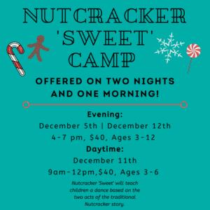Dance 101 Nutcracker Camp