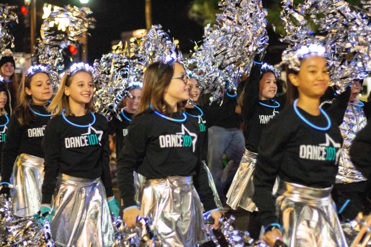 D101 Dancers in parade